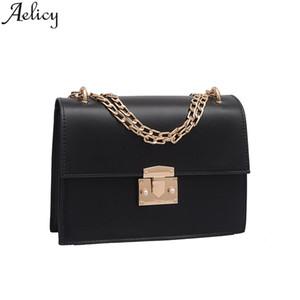 Aelicy 2019 Fashion New Womens Crossbody Retro Style semplice catena ragazza spalla Fashion Lady Travel borsa borsa dell'organizzatore
