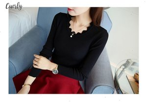 Womens Spring Knitted Pullover 2020 Autumn Cashmere Sweater Long Sleeve Women Elastic Sweater Pullovers Slim Ladies Knitted Tops