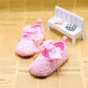 2020 Newborn Baby Girl Shoes Cute Animal Princess Kid Anti-slip On Shoes 0-18 Months Toddler Crib Hook & Loop First Walkers