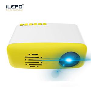 CS03 Mini Projecteur LED Smart Home Theater Projector 320x240 pixels 400-600 Lumens HDMI LCD USB TF HD Portable Projector