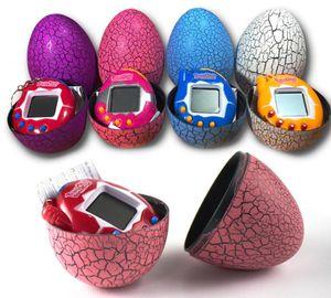 Массажер привел игрушку тамагочи Динозавр яйцо Virtual Electronic Pet машина Digital Electronic E-животное ретро Cyber игрушка ручной игра