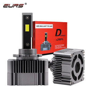 EURS 자동차 헤드 라이트 D1S D2S D3S D4S D5S LED CANBUS headllamp 90W 10000LM 12V 6000K 자동차 LED 헤드 램프 D1R D2R D3R D4R 자동차 조명