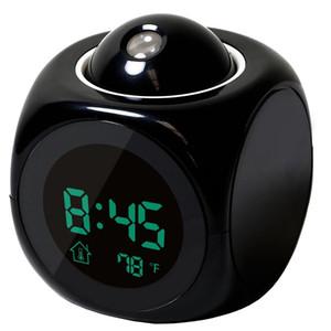 Il nuovo modo Attenzione Digital Projection Meteo Lcd Snooze visualizzazione orologio di colore del proiettore Led Backlight campana Timer Btz1