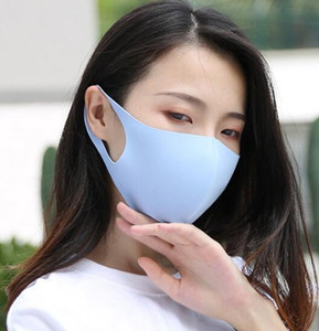 Máscaras de gelo de seda máscara máscaras Verão Fina protectores solares Moda Anti Poeira Anti Fog cara do algodão Lavado respirável Máscara Máscara Designer GGA3210