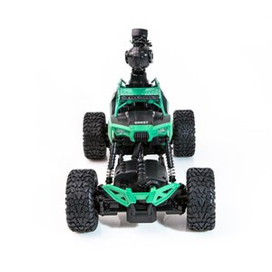 Crazon 171604B RC Car RC Climbing Car 1 16 2.4G 4WD With Wifi Camera 0.3MP Phone Control Double Turning Waterproof Crawler Car