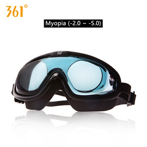 361 Large UNISEX Miopia Óculos de Natação HD impermeável Pools Anti Fog Homens Mulheres Óculos Adult Swimming Óculos engrenagem da nadada