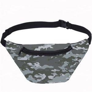 Camouflage Printing Men Waist Bag 2020 New Fashion Unisex Fanny Pack For Women Banana Belt Bags Casual Boy Girl Travel Chest Bag