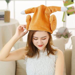 Neu Nettes Plüsch-Spielzeug Electronic Dance Hühnerbein lustiger Hut Adjustable Geburtstags-Geschenke für Erwachsene Kinder VA88