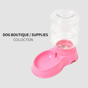 New dog automatic drinking fountain multi-color optional pet supplies simple drinking fountain 3.5L large capacity