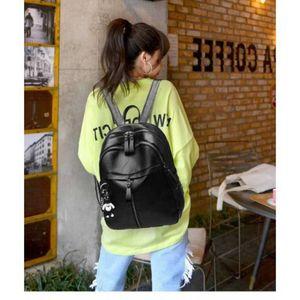 2019 Уличная мода Женская большой объем рюкзак корейский стиль мода простые студенты женская сумка ноутбук рюкзак