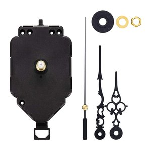 Silent Quartz Wall Clock Movement Replacement Parts with 48mm 69mm 70mm Long Spade Hands