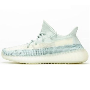 Yecheil Black Static Reflective Synth Antlia Kanye West Running Shoes Gid Glow Clay Beluga 2.0 Butter Semi Men Women Designer Sneakers