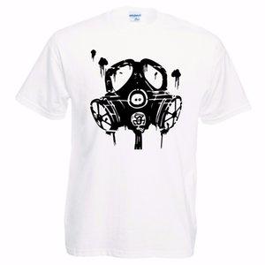 Nuevo listado de verano Moda adultos Camiseta casual Gas Gaz Máscara Camiseta Gaming Gamer Camisetas divertidas para hombres Camiseta de algodón