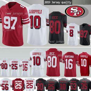 Сан Франциско Джерси 49er 10 Джимми Гаропполо 85 Джордж Киттл 97 Ник Боза 80 Джерри Райс Майки Монтана Шерман 7 Колин Каперник