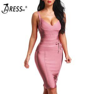 Indressme 2019 женщин платье повязки новый сексуальный спагетти ремень глубокий V спинки модное платье Bodycon Femme Vestidos Club Party Y190514
