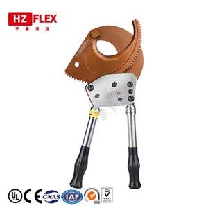 Cortador de cable de trinquete de aluminio resistente con corte de cobre de hasta 400 mm2 Eidoct