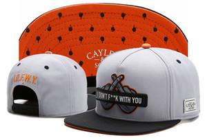 Cayler Sons LOFWY JE NE F ** K AVEC VOUS os de la marque hop Casquettes de base-ball des hommes de la hanche GORRAS femmes hommes chapeau de soleil pas cher Snapback Chapeaux