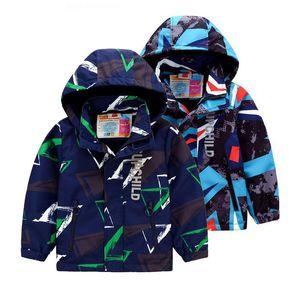 New 2020 Spring Autumn Children Kids Jacket Baby Boys Windproof Waterproof Jackets Outwear Boys Double Deck Polar Fleece CoatNskK#