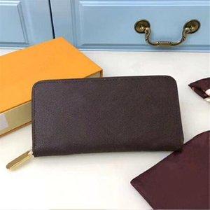 Мужчины бумажники Long Double Zipper PU кожаный телефон карманный большой емкости Мужчины Кошелек Многофункциональный Классический Мужской кошелек Бесплатная доставка