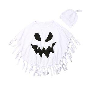 Bebek Bebek Çocuk Unisex Cadılar Bayramı Şapka Cloak Robe Cape kılık kıyafetleri Battaniye