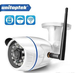 HD 1080P Kablosuz IP Kamera WIFI Açık ONVIF CCTV Video Ev Güvenlik Bullet Kamera TF Kart Yuvası Gece Görüş APP Camhi Hızlı DHL