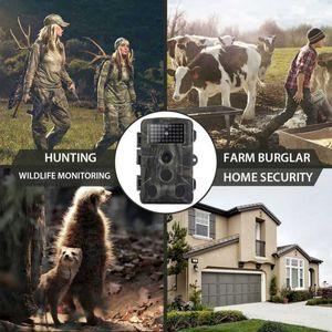 20MP 1080P дикой природы Trail Camera Photo Trap Инфракрасная Охота Камеры HC802A беспроводной слежения камеры наблюдения для охоты