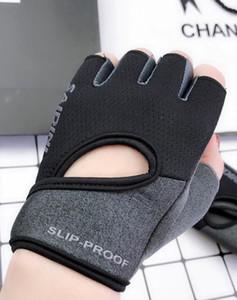 Fitness gloves female yoga spinning bicycle non-slip half finger breathable wear-resistant equipment dumbbell training sports gloves men