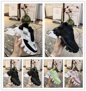 Prada 2020 caliente nuevos zapatos de diseño para hombres y mujeres Cloudbust Thunder diseñador de punto zapatos de mujer de gran tamaño suela de goma ligera zapatos casuales 3D