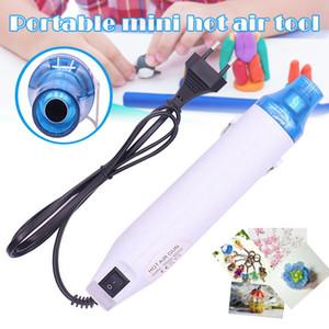 محمول محمول كهربائي Hot Air Pen 130W أداة تدفئة طاقة محمولة لDIY Embossing يتقلص تغليف Pvc تجفيف طلاء Q