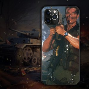 Arnold Schwarzenegger Movie Commando Phone Case For iphonePhone 11 Pro Max Soft TPU Shell Cover For iphonePhone 11 Series Funda Coque Capa
