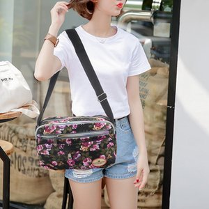 Fashion Printing Women Messenger Bags Canvas Sport Bags Mummy Bag Ladies