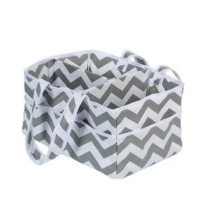 1pcs Sac de rangement pliable Vêtements pour bébé Enfants Jouets Organisateur Sac maman Portable Diaper Caddy Sacs Pochette d'organisation