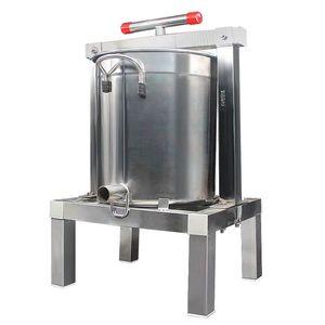 Роскошный нержавеющая сталь Honey Press, пчеловодство Мед Пресс-машина, Solid Honey Прижимной