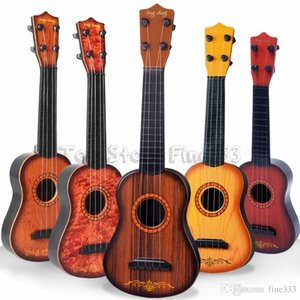 Mini 16inches Beginner Classical Safe simple Ukulele Guitar 4 Strings Educational Musical Concert Instrument Toy for Kids Christmas Gift