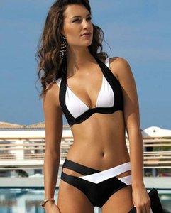 Wholesale-Fashion 2016 New Arrived Sexy Women Underwear for Swimming Set Bandage Push-Up Padded Swimwear Bathing Beachwear