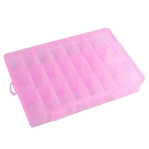 조정 24 구획 플라스틱 저장 상자 기타 홈 스토리지 조직