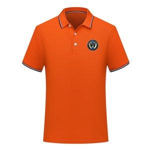 2020 Philadelphia Union Erkekler yeni gündelik futbol polos gömlek kısa kollu yaka polo futbol polo gömlek Erkekler eğitim forması Polos gömlek