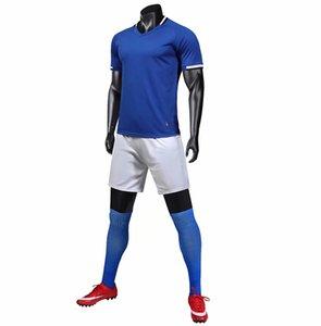 ليبو 2020 الكبار لكرة القدم مجموعات الرجال لكرة القدم ملابس الشخصية مخصصة للأطفال لكرة القدم الفانيلة فرق DIY LOGO الأحمر كرة القدم البدلة مع جيب
