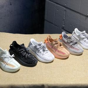 Adidas Yeezy 350 V2 Sneakers per bambini Presto 90 II Bambini Sport Ortopedici Gioventù Allenatori per bambini Neonati Ragazzi Scarpe per esterni 6 Colori Taglia 28-35