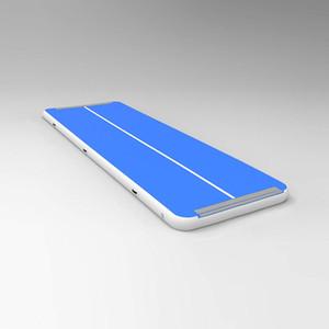 Pompalı Jimnastik Airtrack Tamburlama Ev Seti Eğik Hava Işın Yoga Mat için Ücretsiz Gönderim 4x1x0.1m Hava Parça Mat