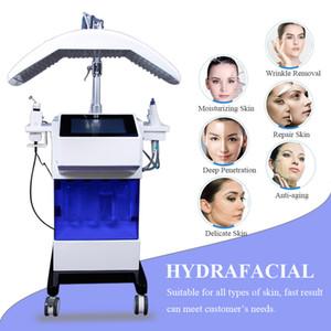 8 IN 1 Hydra Yüz Makine Hidro Mikrodermabrazyon Ultrasonik Cilt Scrubber Oksijen Yüz Sprey Hydrafacial Makinası