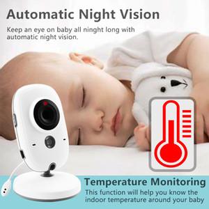 Wireless Video Farbe Baby-Monitor mit LCD 2-Wege-Audio Diskussion Nachtsicht-Überwachung Überwachungskamera Anzeige Temperaturerfassung Mode