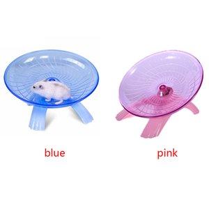 Exercise Zubehör Funny Pet Supplies Non Toxic Sport Plastikspielzeug 18cm Silent-Hamster Lauf Disc
