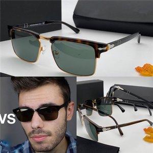 Простой стиль моды квадратный ретро половина кадра дизайн унисекс солнцезащитные очки открытый УФ защита очки PE3102 дизайнерские солнцезащитные очки высокое качество