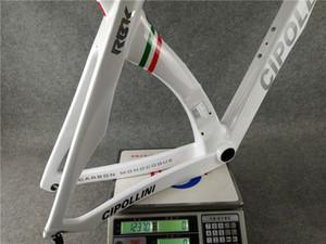 RB1K BİR İtalyan Şampiyonu Bisiklet Karbon Yol Bisikleti Çerçeveler 3K Dokuma Bisiklet Çerçeve XS / S / M / L / XL