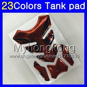 Fibra de Carbono 3D tanque Pad Para HONDA NSF100 06 07 08 09 10 NSF 100 NSF100 2006 2007 2008 2009 2010 MY87 Gas Cap tanque protetor decalques etiqueta