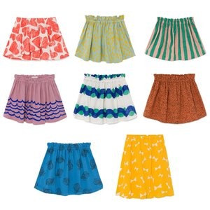 Kids Skirts 2020 BC Brand New Spring Summer Girls Cute Fashion Print Short Skirts Baby Child Cotton Clothes