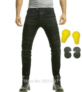 Loong biker high quality 100% cotton motorcycle riding trousers knight daily protective jeans moto sports cycling slim pants