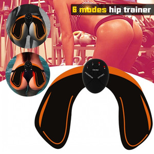 EMS Hip Trainer Muscle Stimulator ABS Fitness Buttocks Butt Lifting Buttock Toner Trainer Slimming Massager J1755
