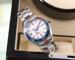 2020 high quality james bond 007 watches planet ocean men sport Wristwatch aqua terra sea master watches seamaster OMEGA mens watch D4110
